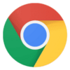 Google Chrome (64-bits) logo