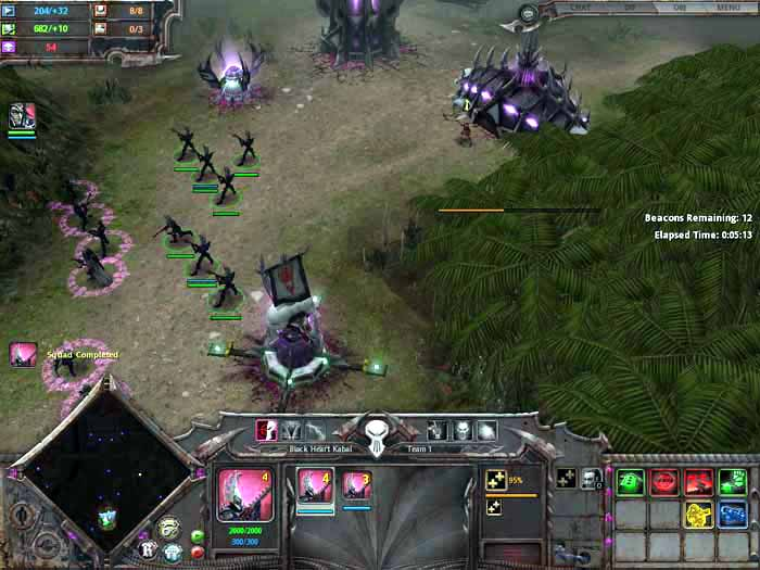 Warhammer 40,000: dawn of war soulstorm game mod soulstorm.