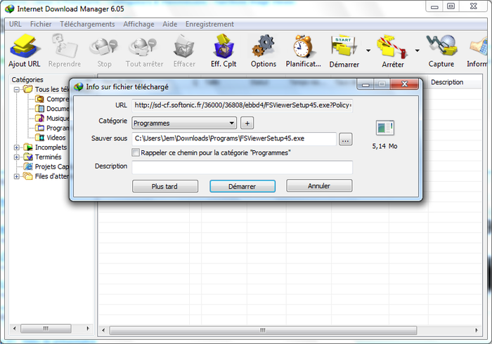 Telecharger download manager gratuit 2014.