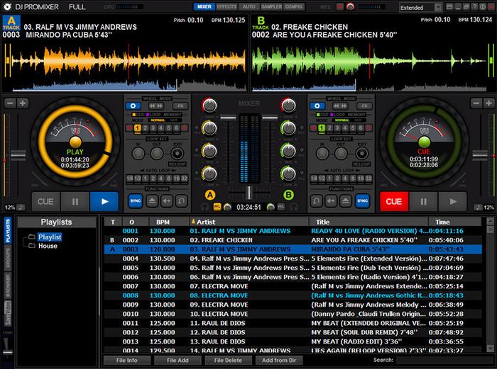 Nch mixpad audio mixer free download.