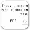Curriculum Vitae Europeo in PDF logo