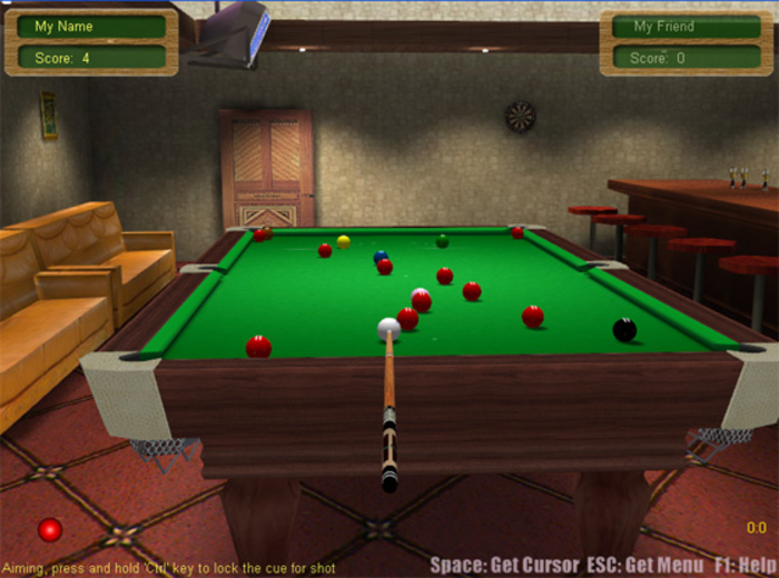 Free 3d snooker game downloads.