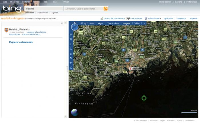 bing maps download