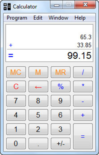 Simple calculator app (apk) free download for android/pc/windows.