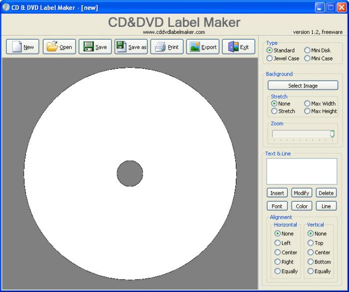 cd label creator free download