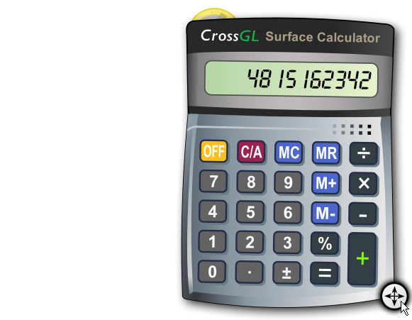 CrossGL Surface Calculator - Free Download