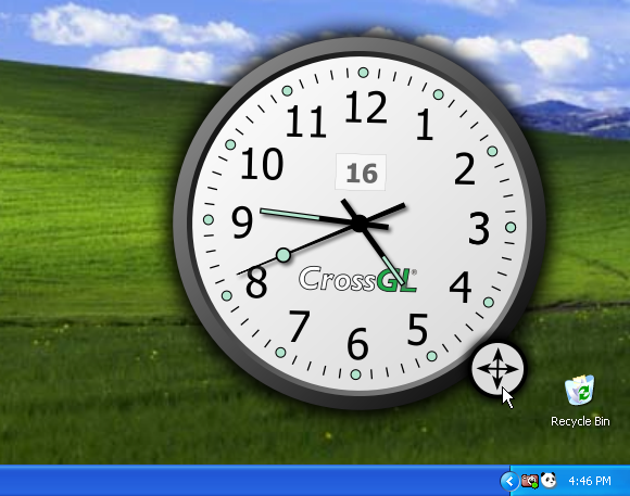 Crossgl surface clock free download.