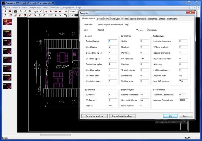 Deep View Free DWG DXF Viewer - Free Download