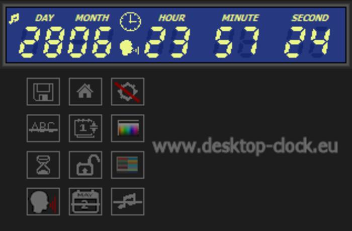 Digital Clock and Countdown Ticker - Free Download