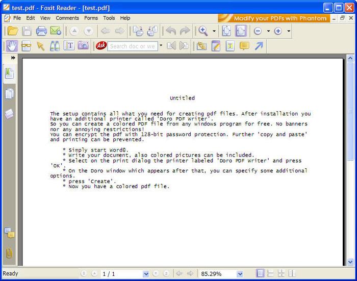 Download doro pdf writer 2. 11 (free) for windows.