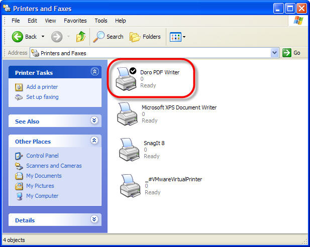 Doro::create pdf files for free the sz.