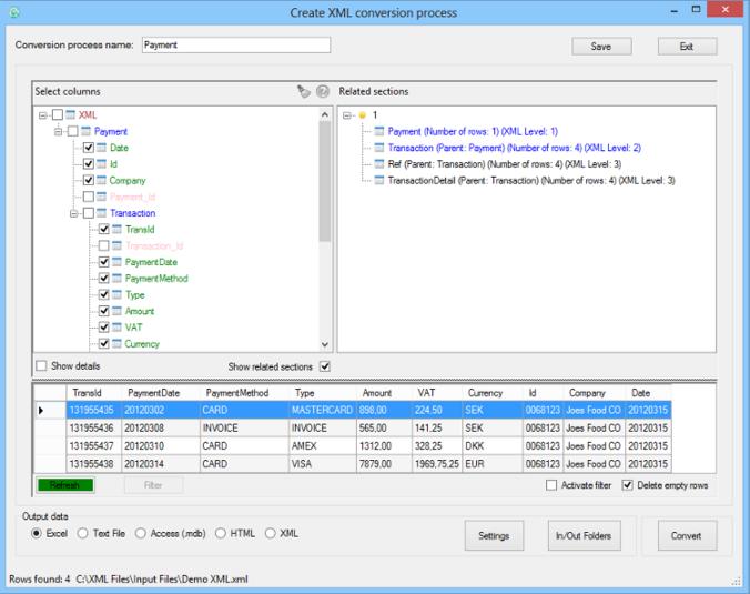Easy XML Converter - Free Download