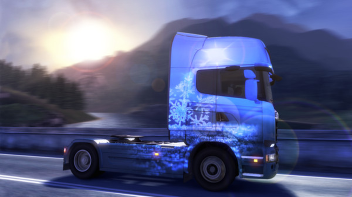 Euro Truck Simulator 2 - Ice Cold Paint Jobs Pack - Free