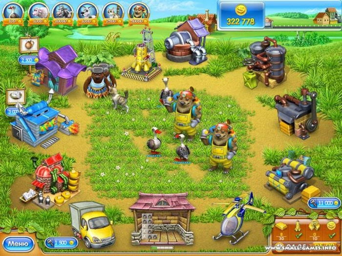 Farm Frenzy: Russian Roulette - Free Download
