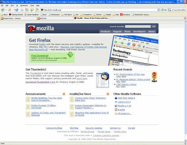 Firefox 1 - Free Download