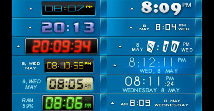 Desktop clock free download for windows 8
