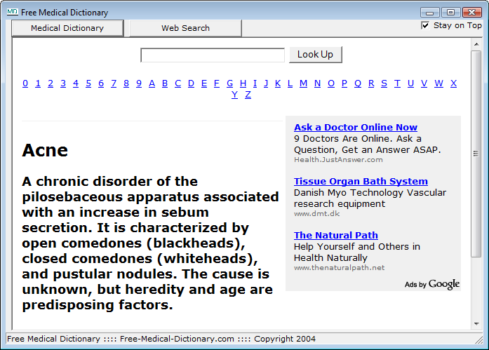 Free Medical Dictionary Free Download