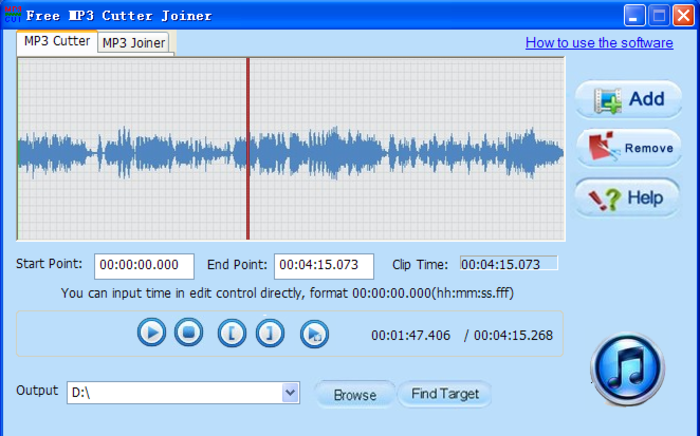 Free MP3 Cutter Joiner - Free Download