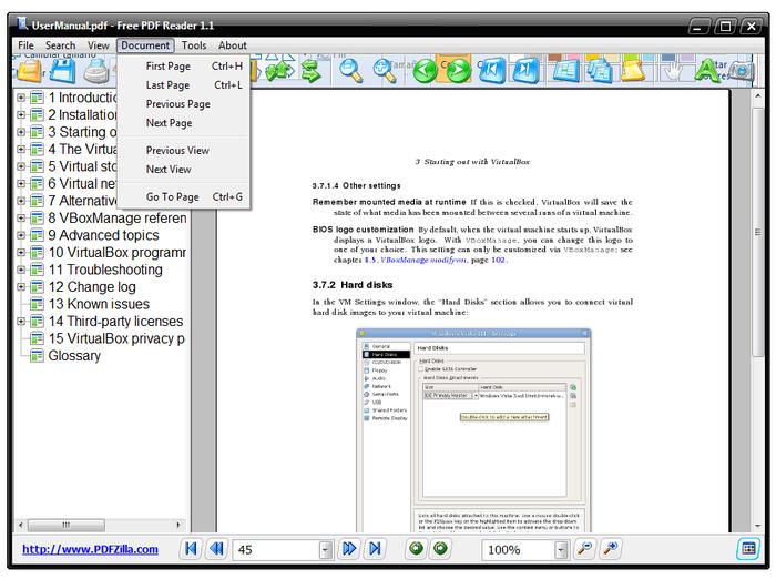 Freeware Pdf Action Reader