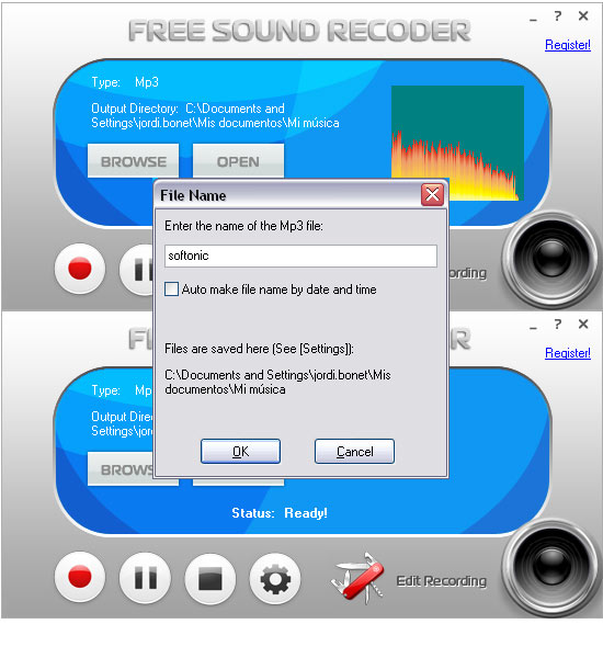 Free Sound Recorder - Free Download