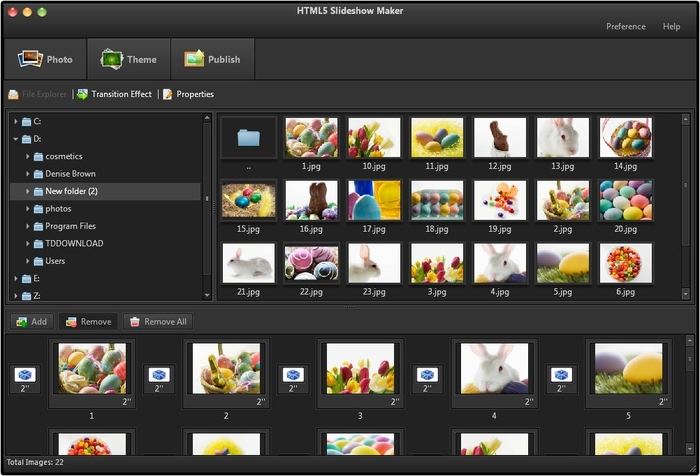 photo slideshow software free