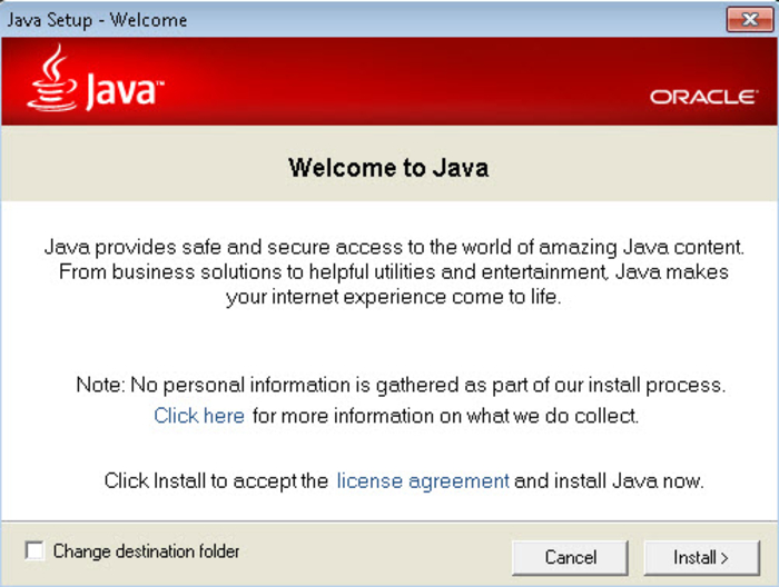 Java runtime environment (64-bit) download (2019 latest) for.