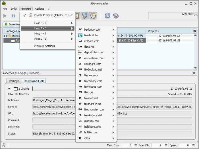 jdownloader portable 0.9421