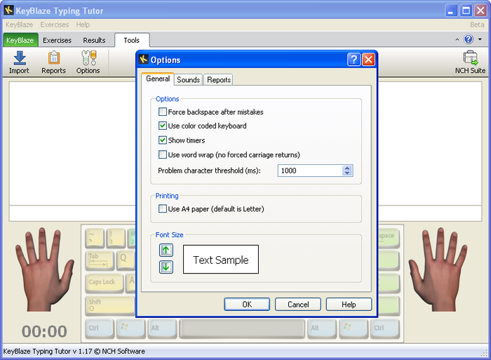 KeyBlaze Typing Tutor - Free Download