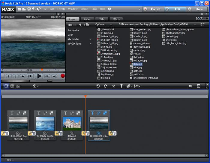 Computeractive software store magix movie edit pro 2014 plus.