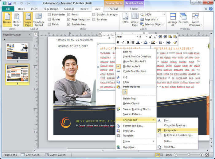 ms publisher free download