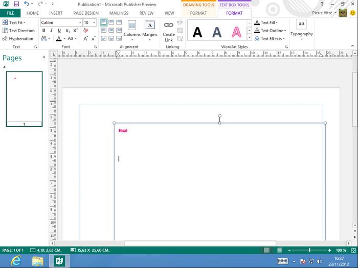screenshots of microsoft publisher 2013 15044201017