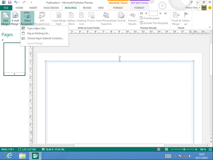 Screenshots Of Microsoft Publisher 2013 15044201017