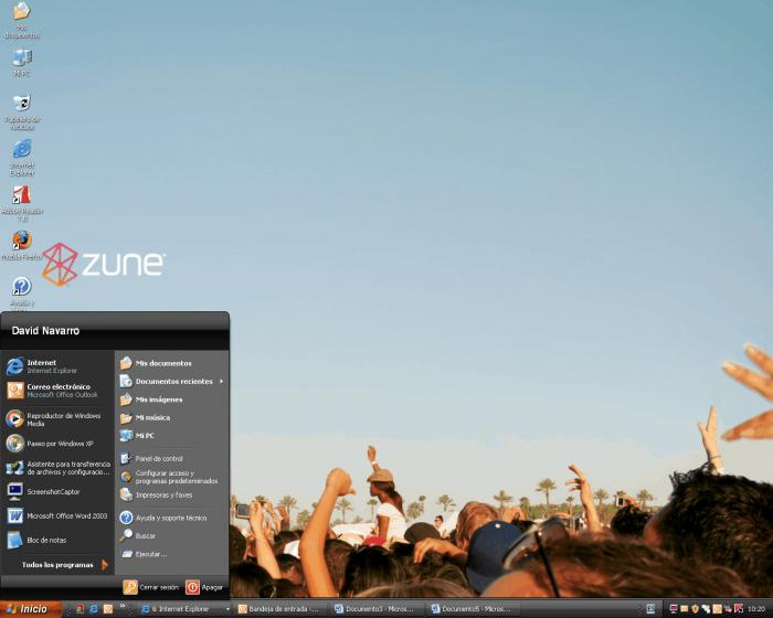 Download free microsoft zune theme for winxp, microsoft zune theme.