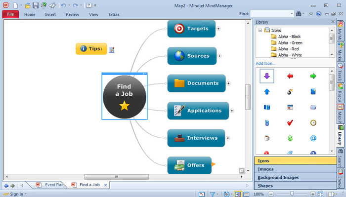 screenshots of mindmanager 2012 100445 - Mindjet Download Free