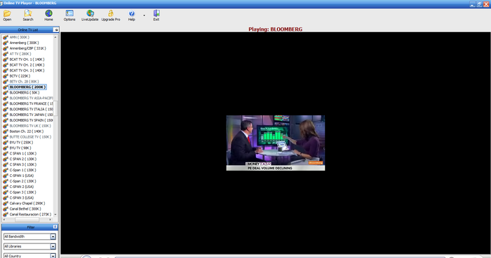 Live tv software that can play more than 1000 live tv channels for.
