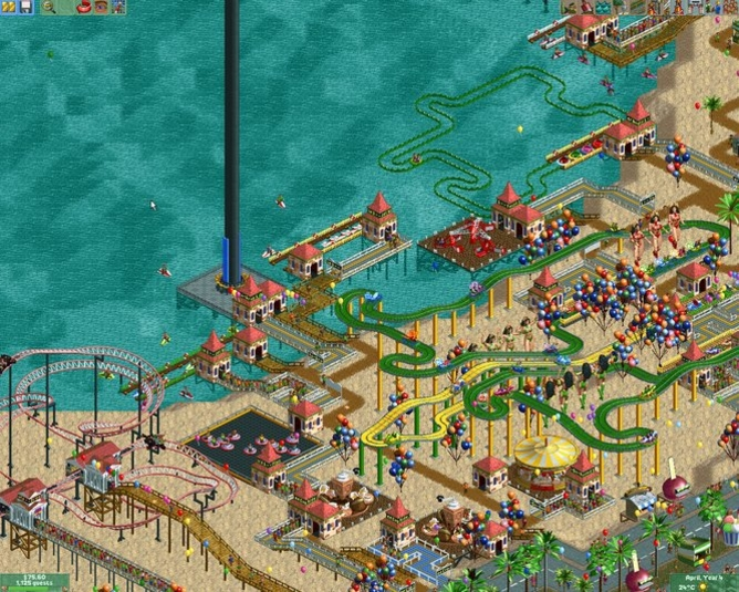 Roller Coaster Tycoon 2: Triple Thrill Pack - Free Download