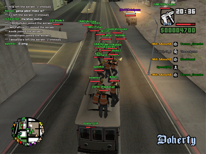 Game patches: grand theft auto: san andreas multiplayer 0. 2. 2.