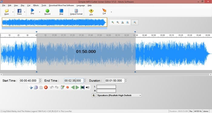 Easy mp3 cutter free download.