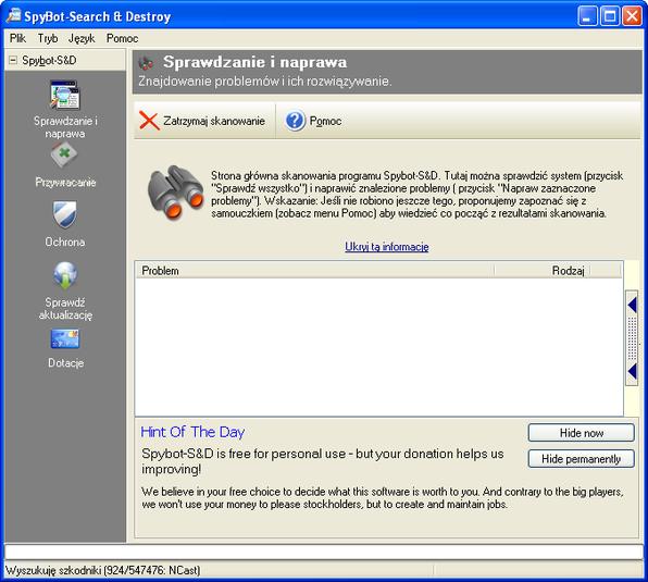Download spybot search & destroy 2. 7 filehippo. Com.