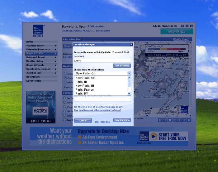 Yd8205ce digital desktop clock free download with weather forecast.