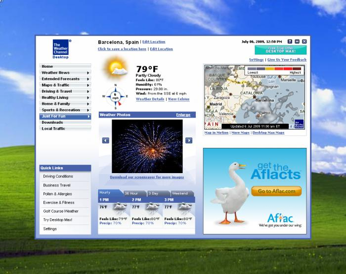 First alert weather app.