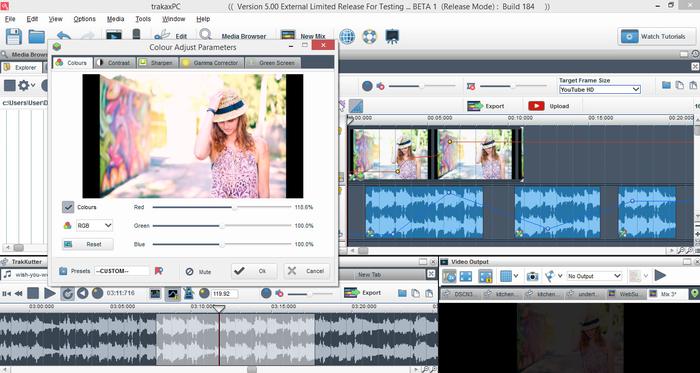Tere mast mast do nain, digital mixing, video mixing, editing.