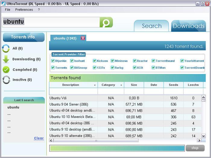 free torrent download software