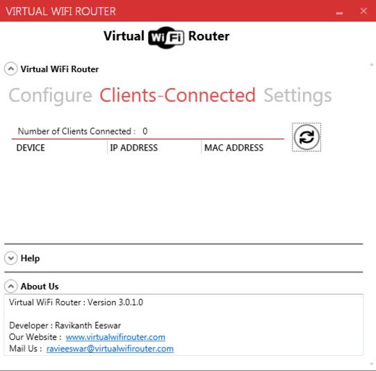 winhotspot virtual wifi router
