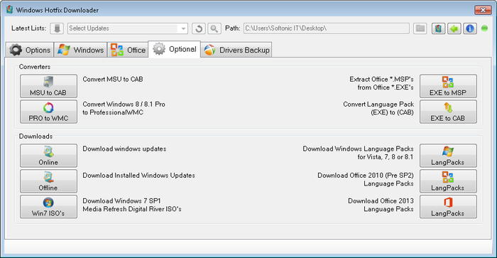 Windows Hotfix Downloader - Free Download