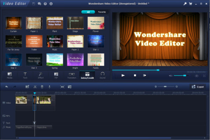 2018 best video editor software free full version for pc download.